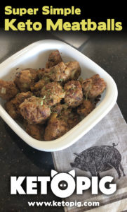 easy keto meat balls