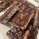 keto chocolate coffee bars
